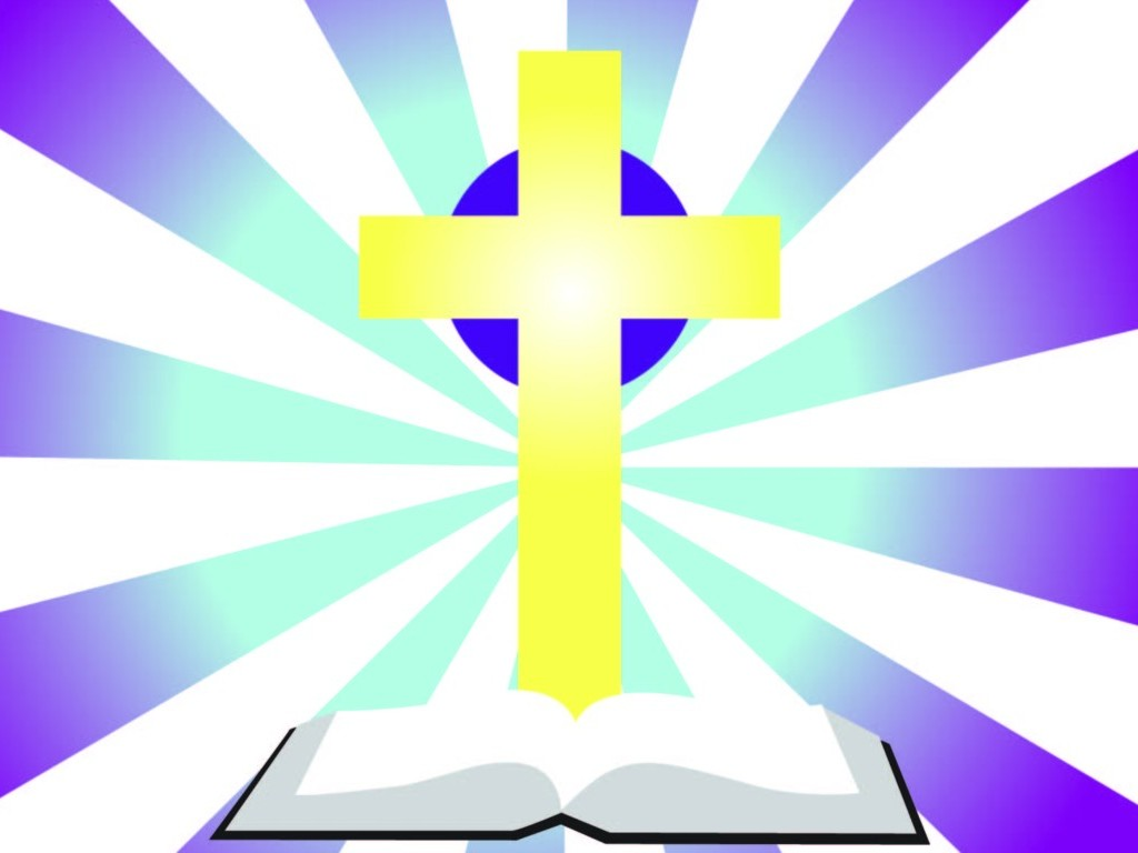 Cross With Bible