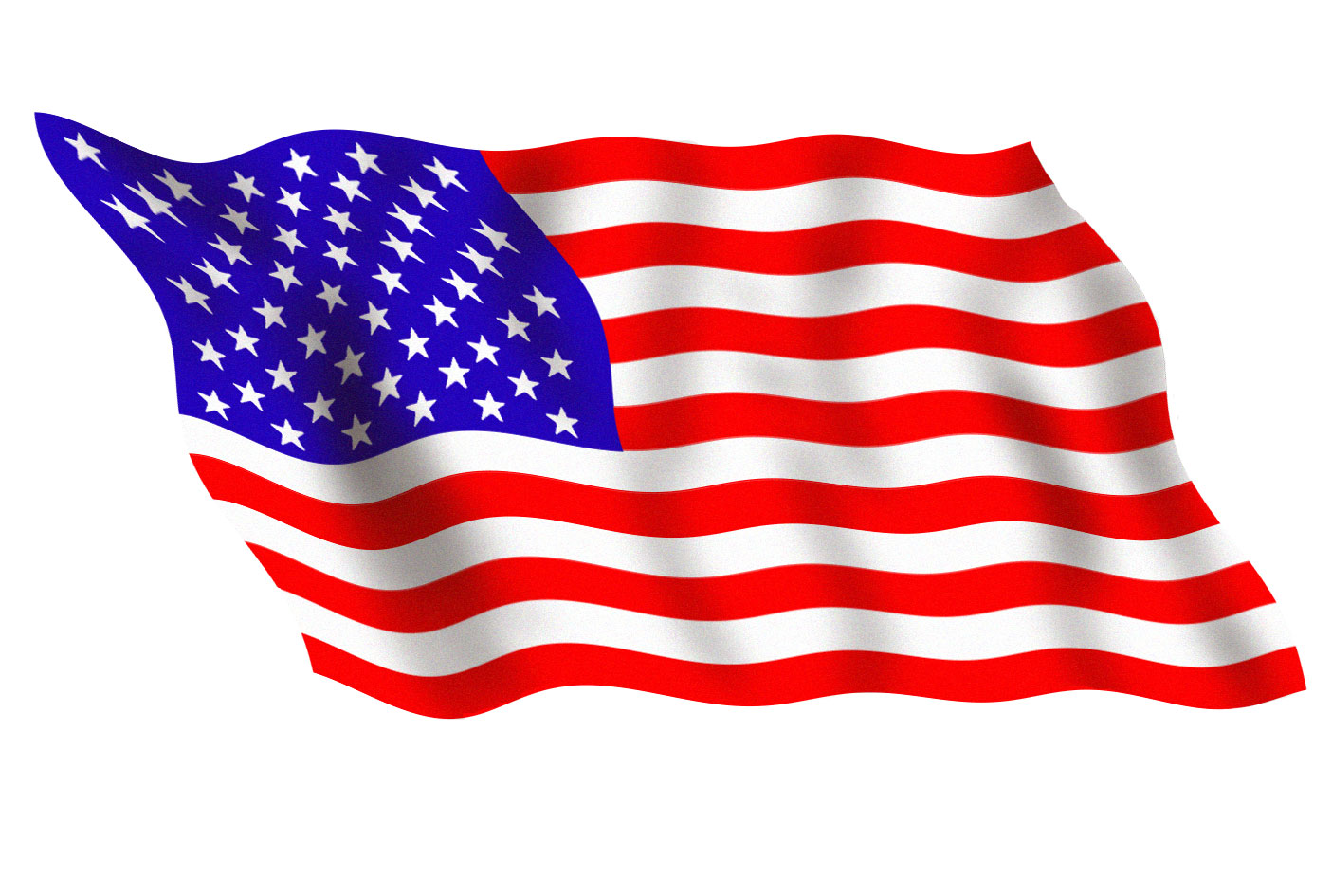 Waving American Flag Clip Art Moving
