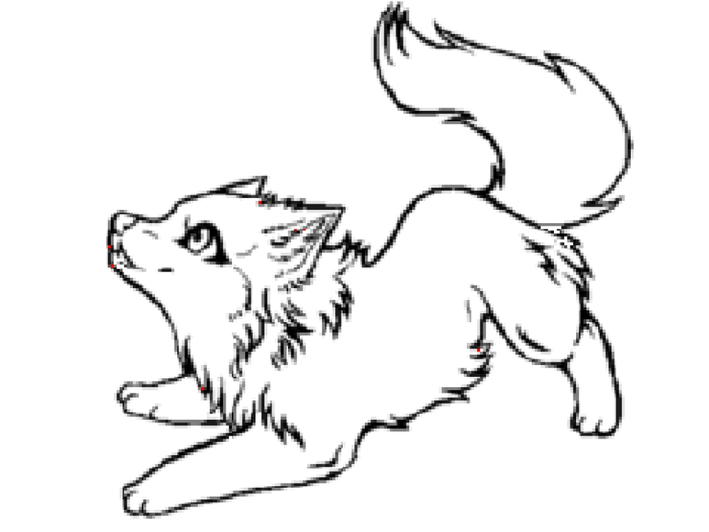 Chibi Werewolf Coloring Pages Novocom Top
