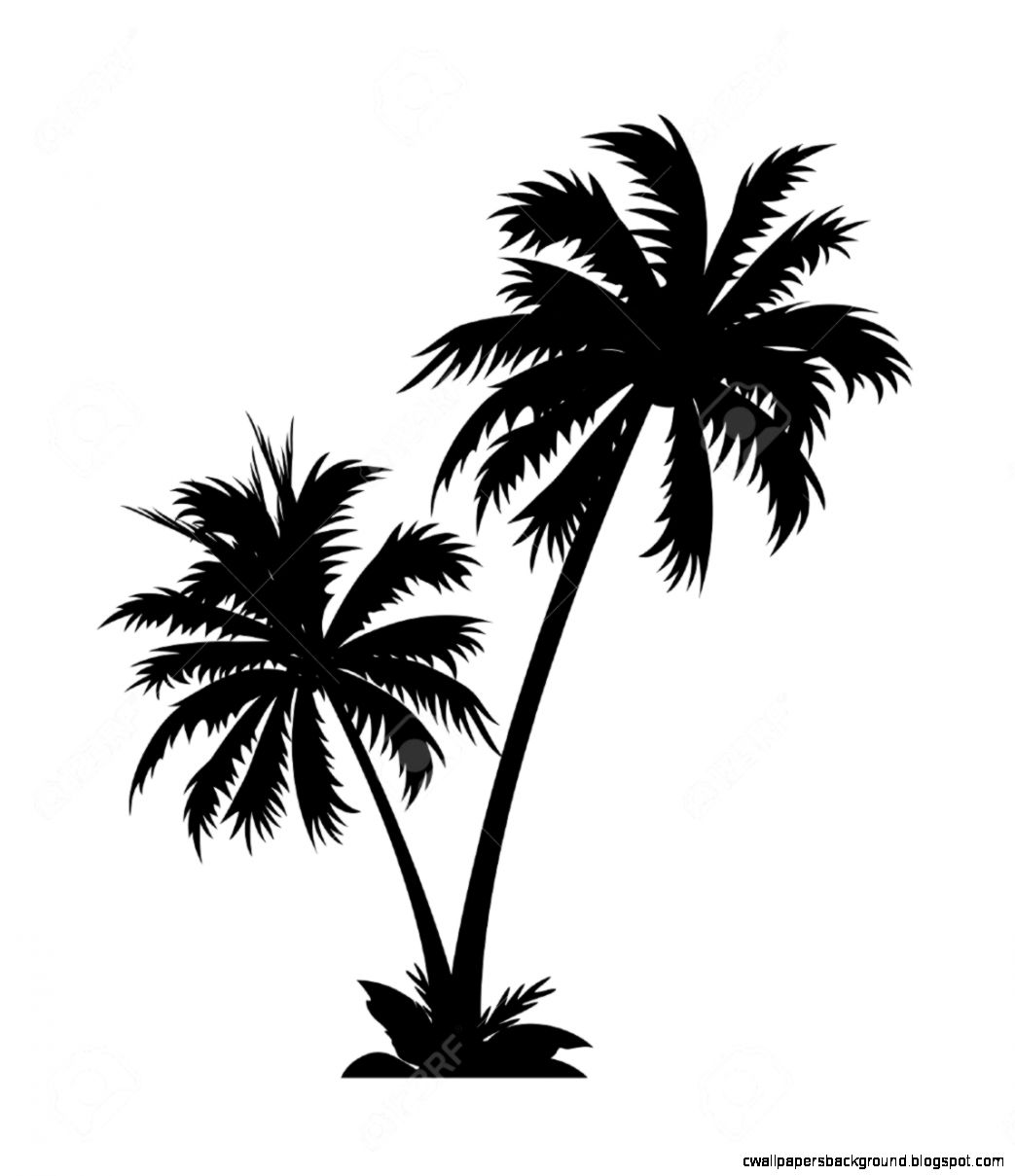 Free Cartoon Palm Trees Clipart Clipart And Vector Image