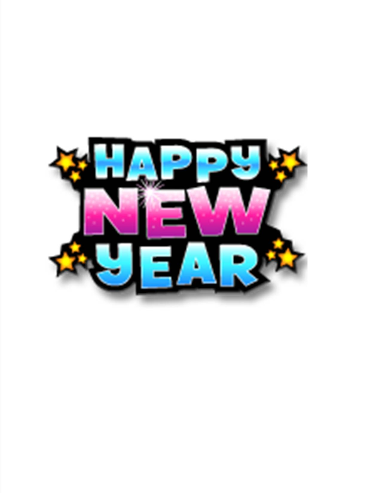 holiday new year clip art