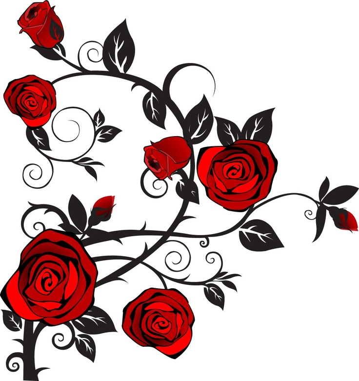 Image result for roses clipart