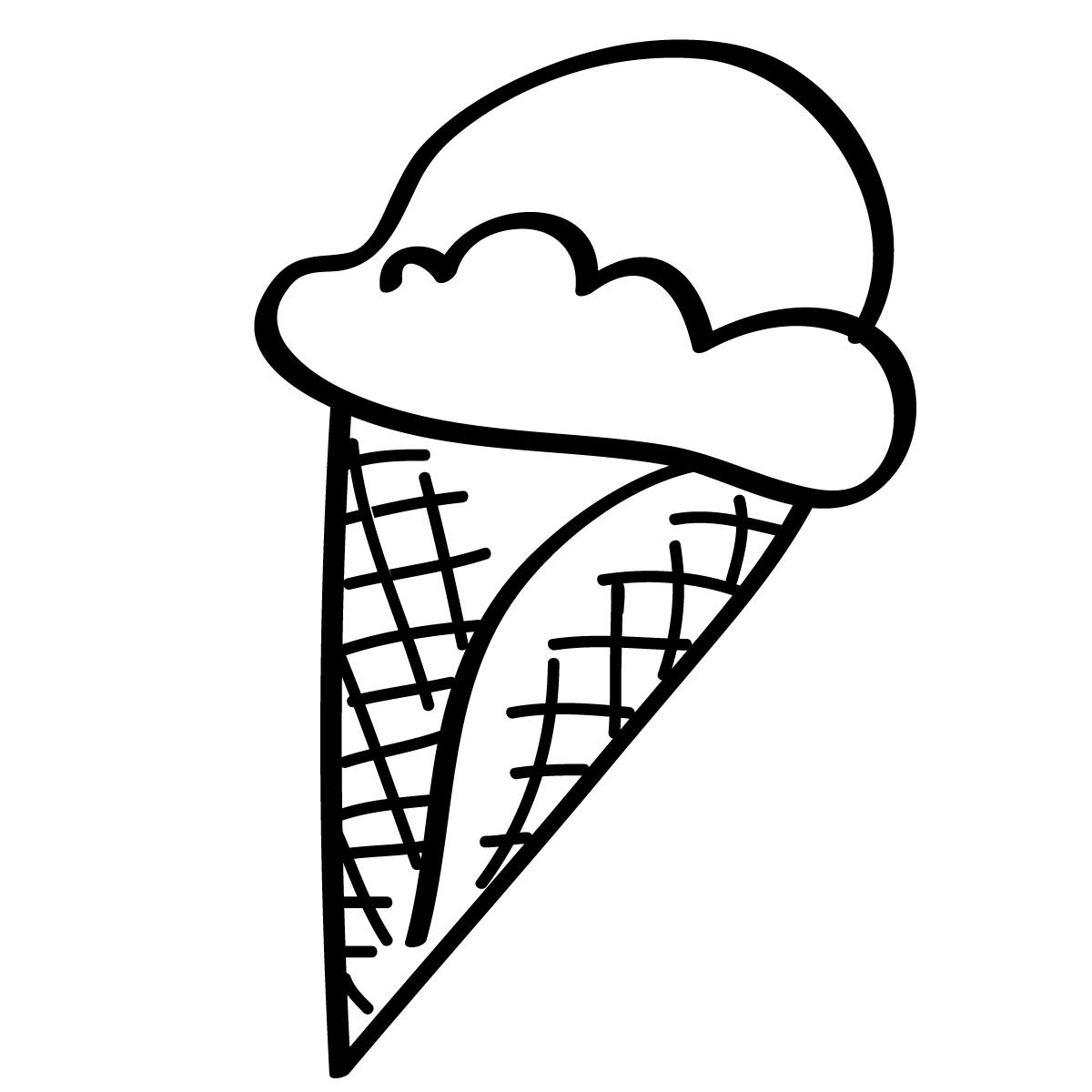 Ice Cream Cone Ice Creamne Clipart Free Clipart Images 2
