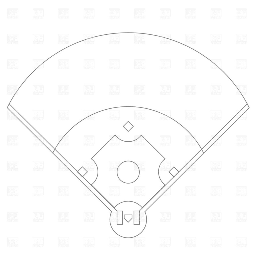 Best Baseball Field Clip Art