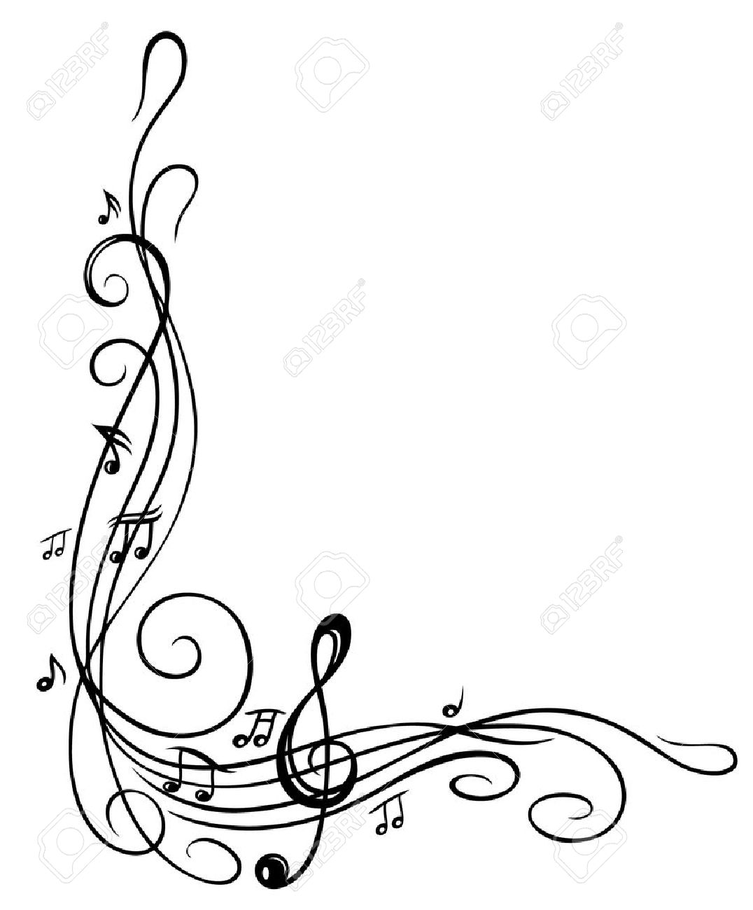Best Music Note Border