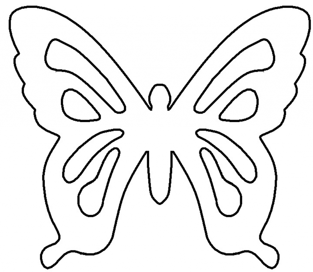 Best Butterfly Outline
