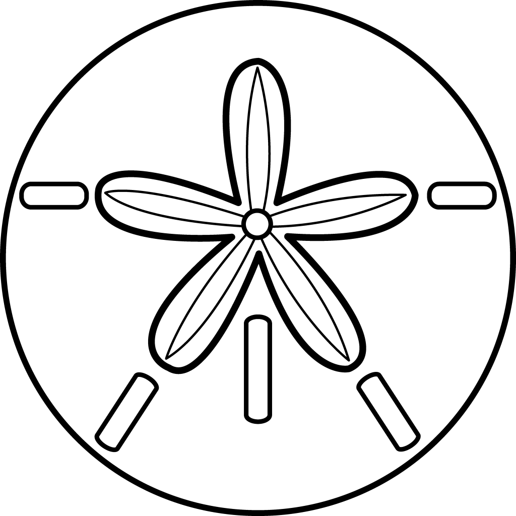 Best Sand Dollar Clip Art
