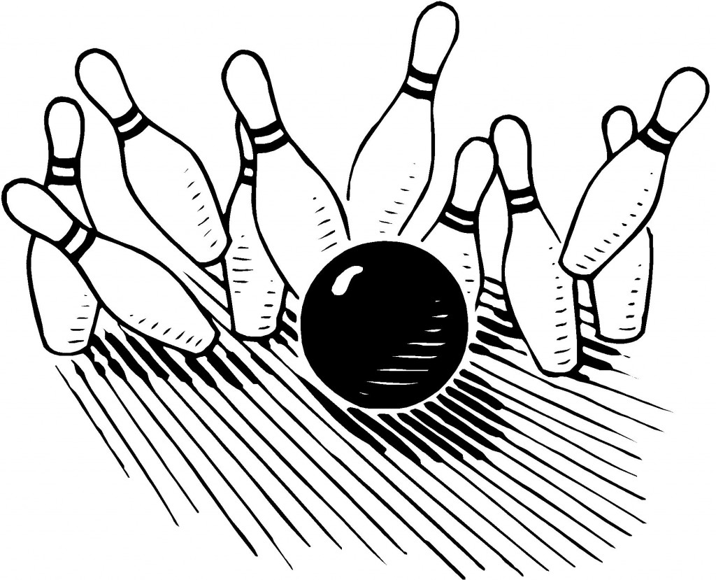 Best Bowling Clipart