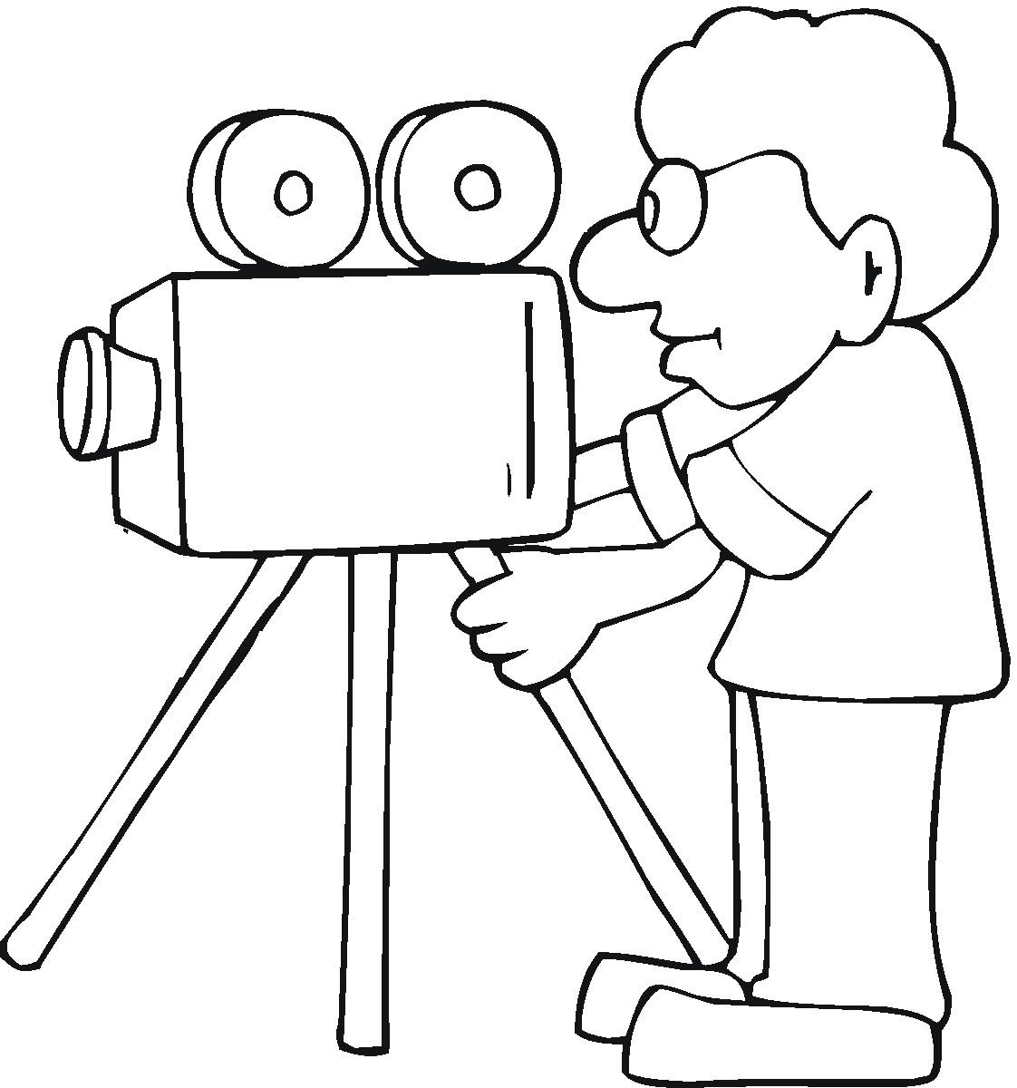 Best Movie Camera Clip Art