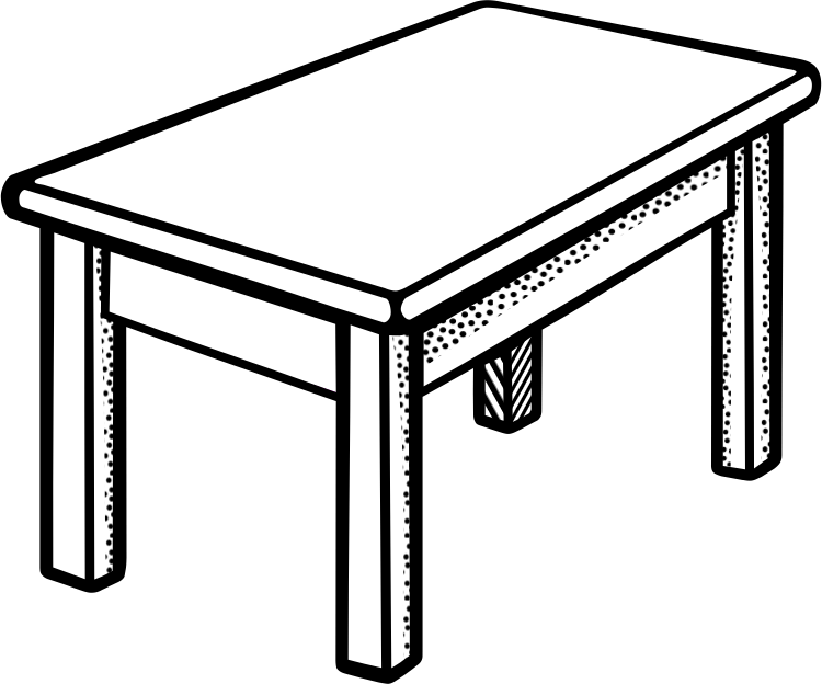 Best Table Clipart #12517