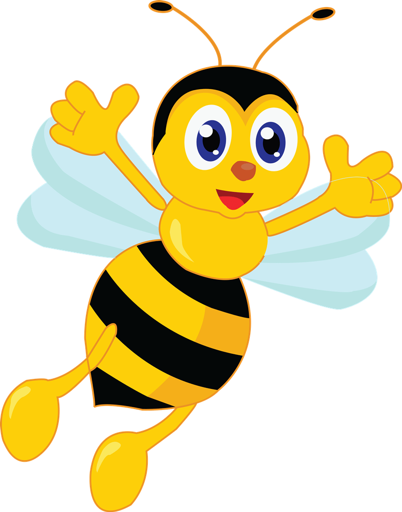 Bee Free To Use Cliparts