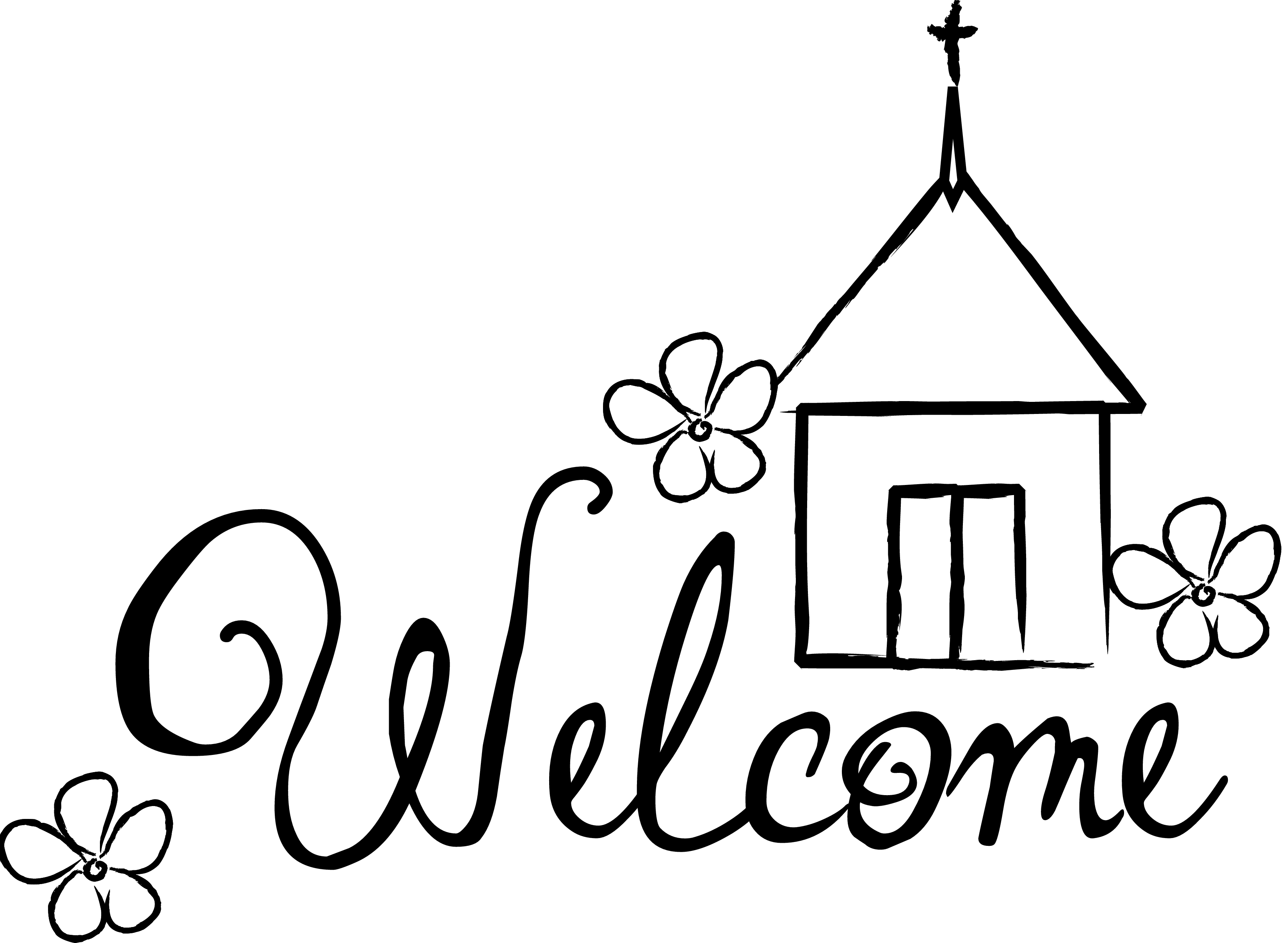 Christian Welcome Clipart Dayasrioe Top