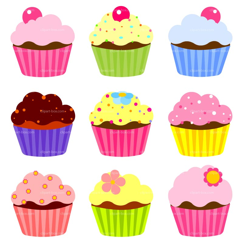 Cupcakes Clipart Border Free Clipart Images Clipartix