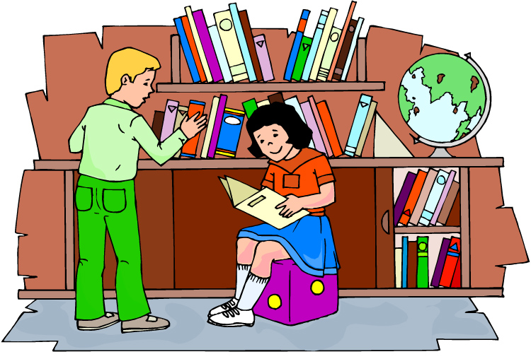 Free Library Clipart Pictures Clipartix
