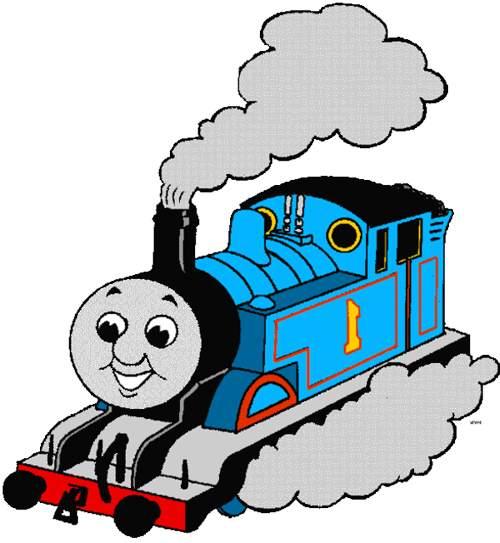 Thomas The Train Clip Art Black And White