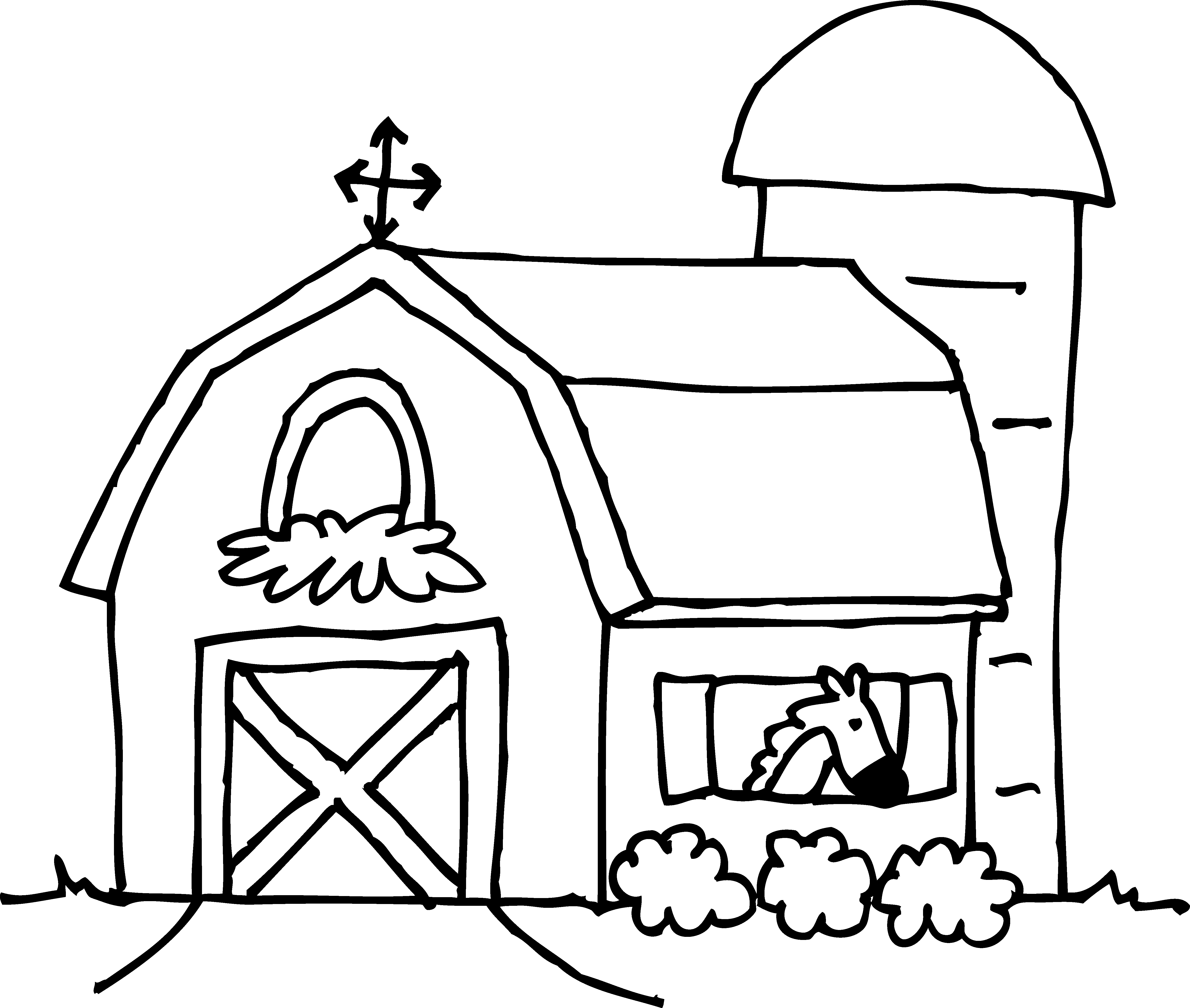 Free Barn Clipart Pictures
