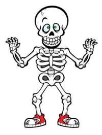 skeleton drawings for halloween