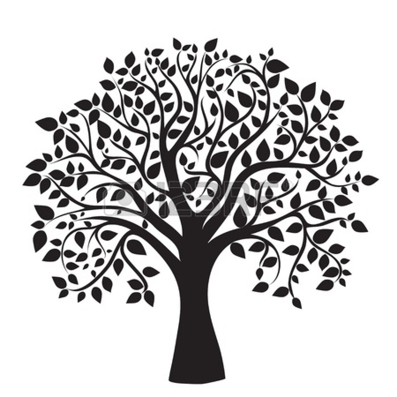 Family Tree Template Printable For Kids Clipart 2