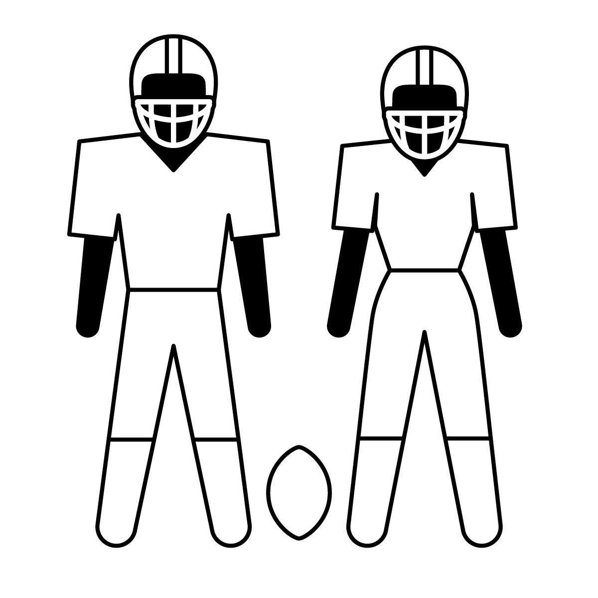 Football Field Clip Art Clipart