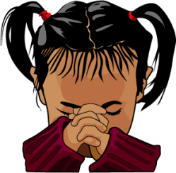 Prayer time clipart clipart kid