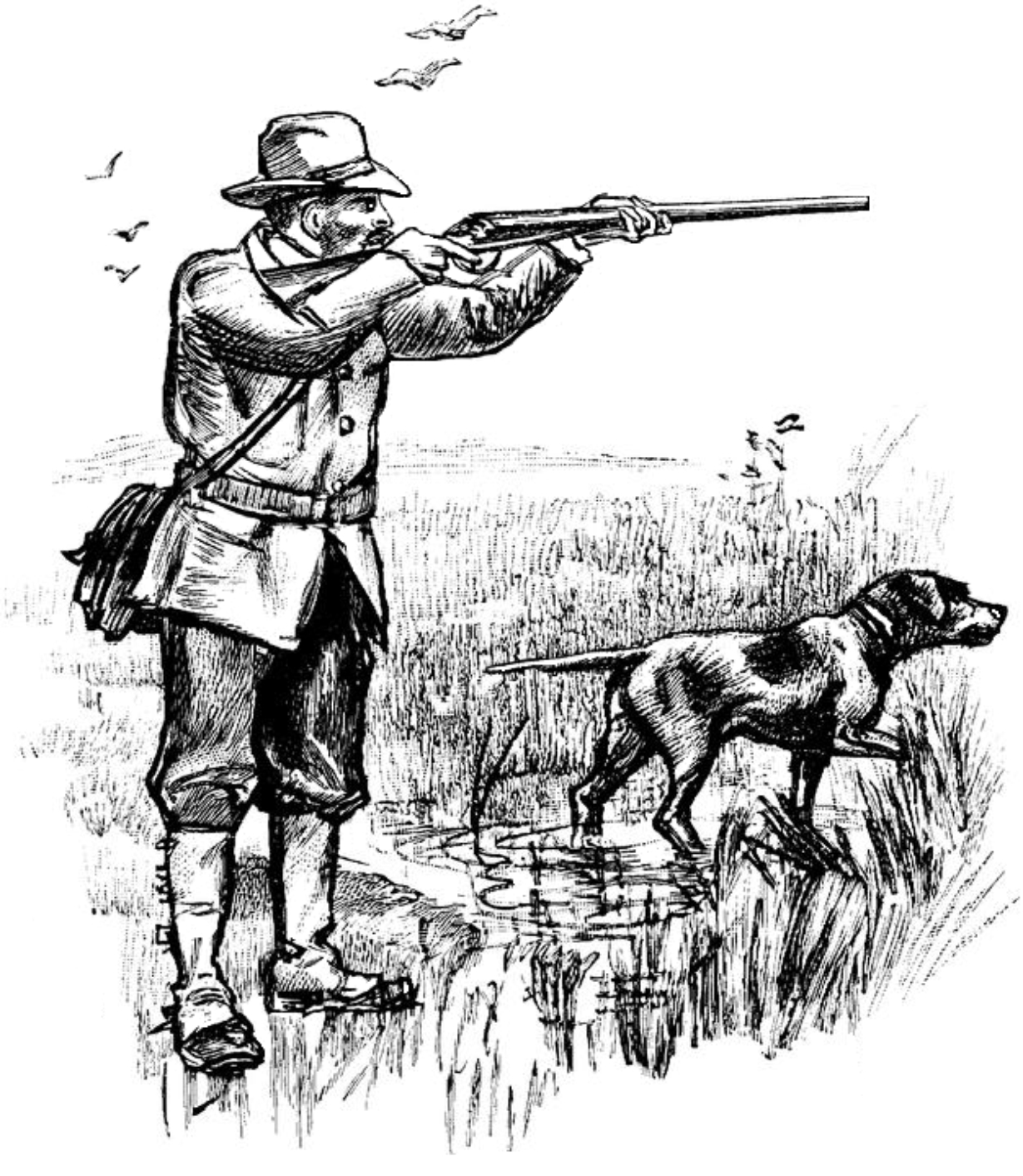 Free Hunting Clipart Pictures