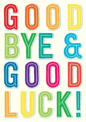 Goodbye And Good Luck Clipart 3 Clipartix