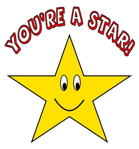 Gold star good job clipart clipartfest Clipartix