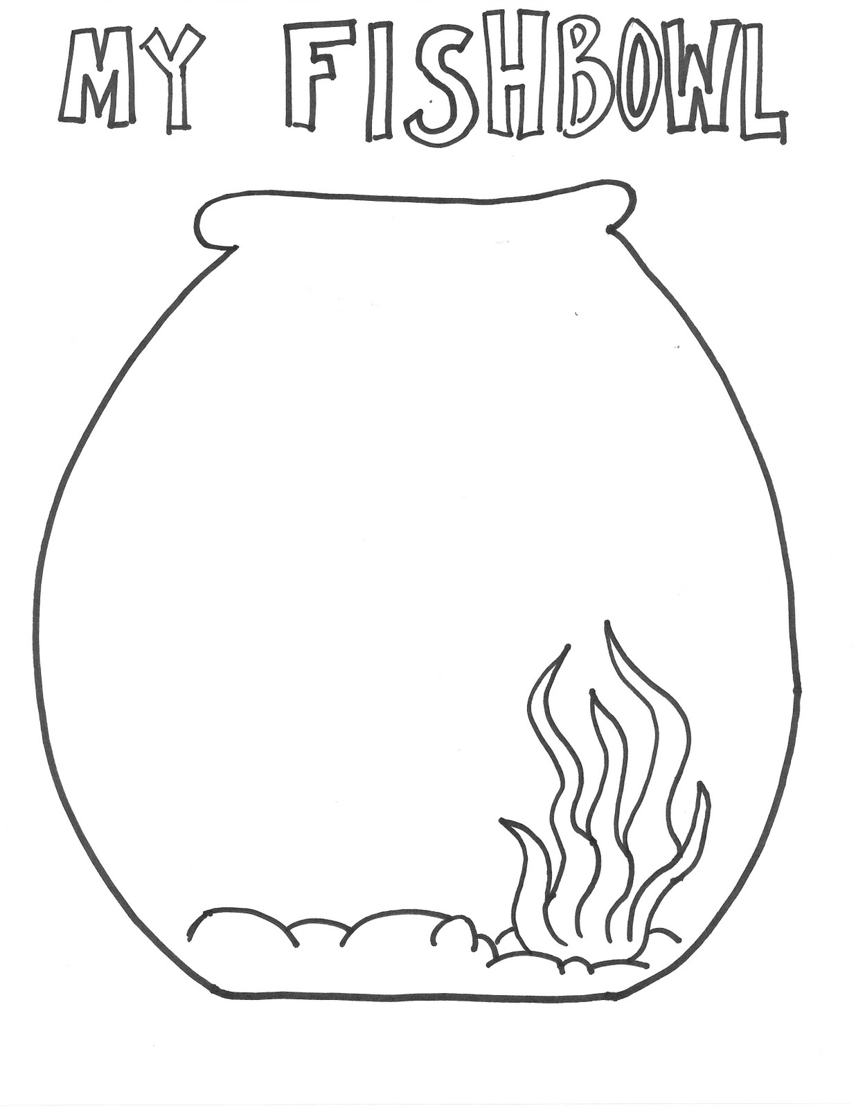 Free Fish Bowl Clipart Pictures