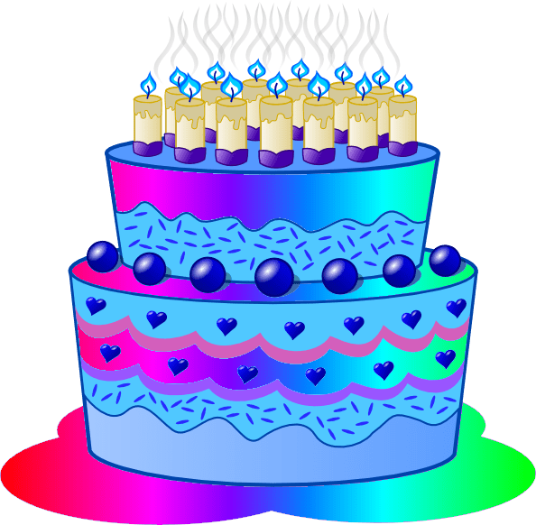 Birthday Cake Clip Art Free Clipart Images 5 2 Clipartix