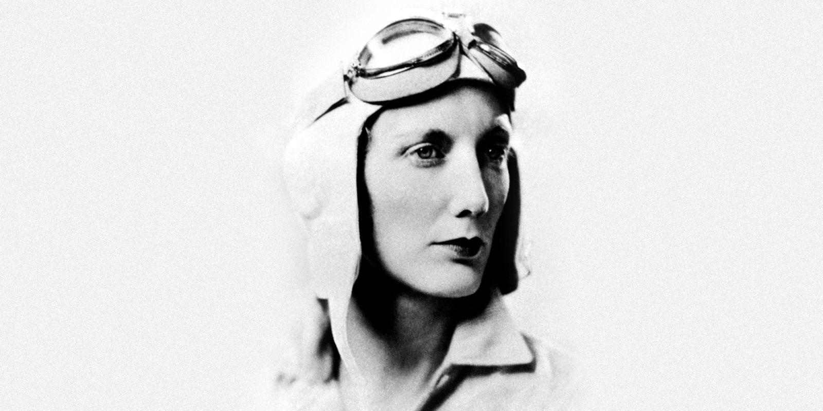 Amelia Earhart Drawing