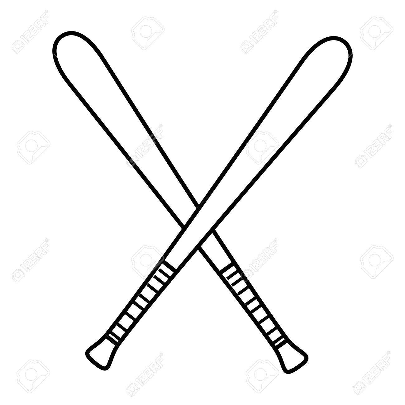 Baseball Bat Drawing