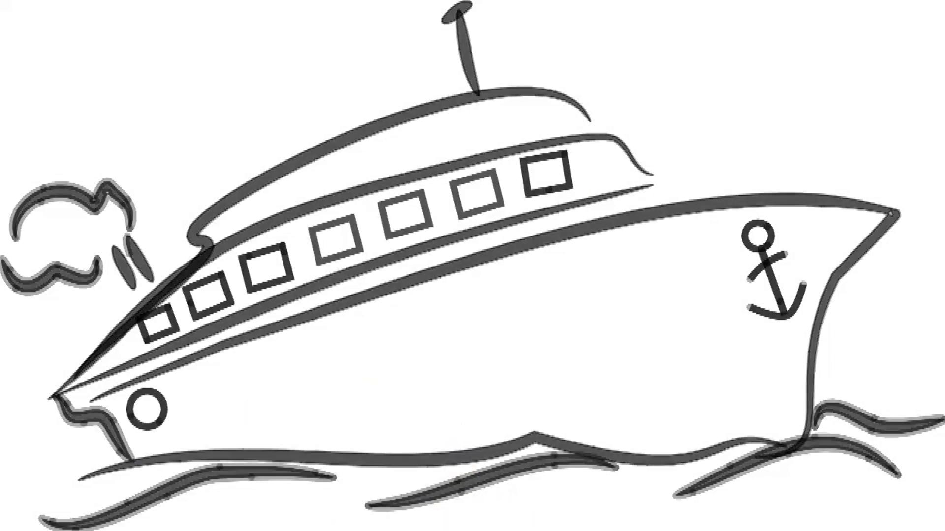 Boat Drawing Images