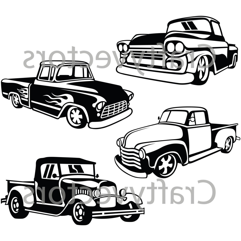 Chevy Silverado Drawing