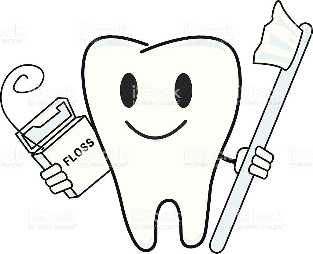 Dental Floss Drawing
