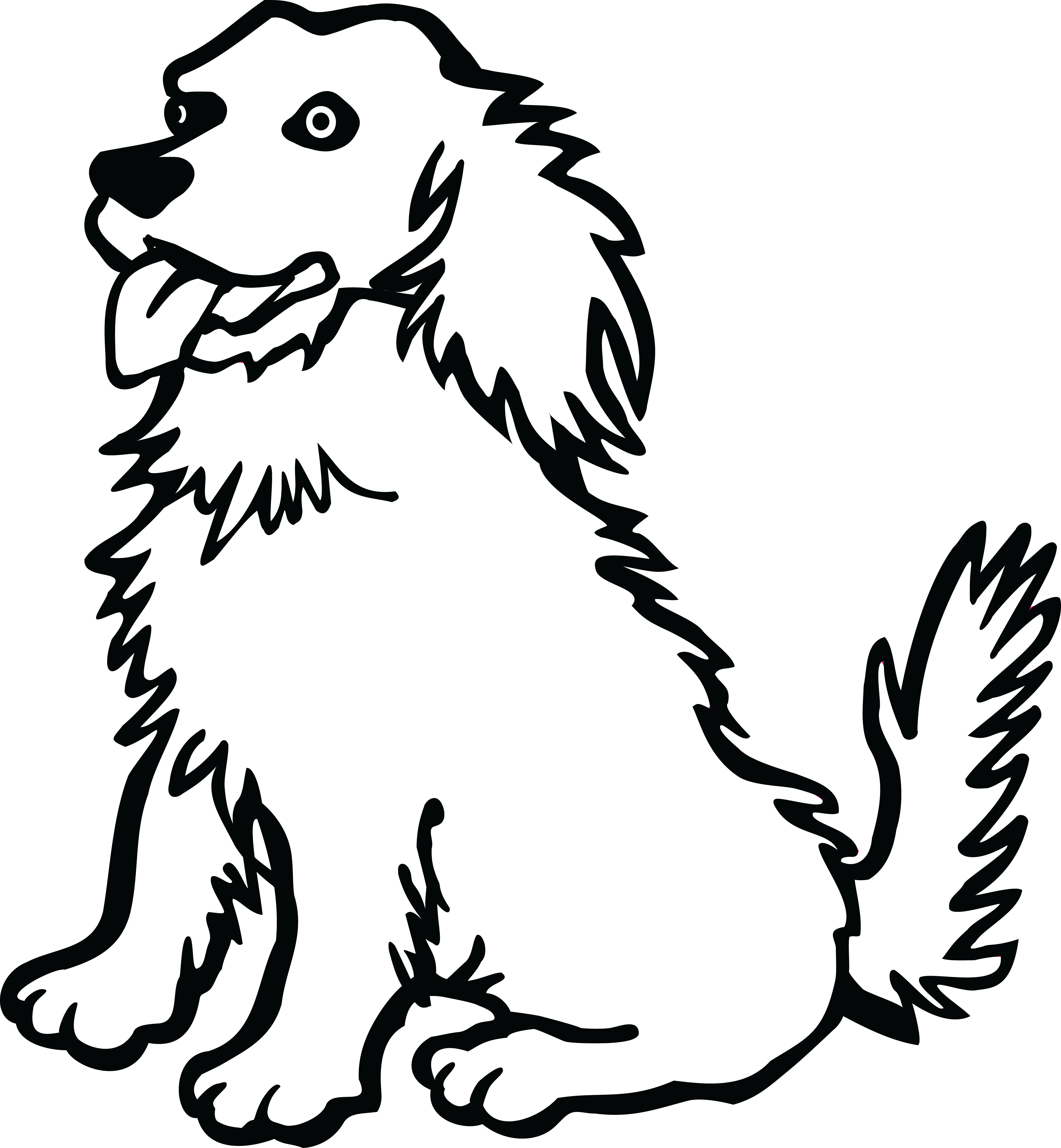 Dog Drawing Pages