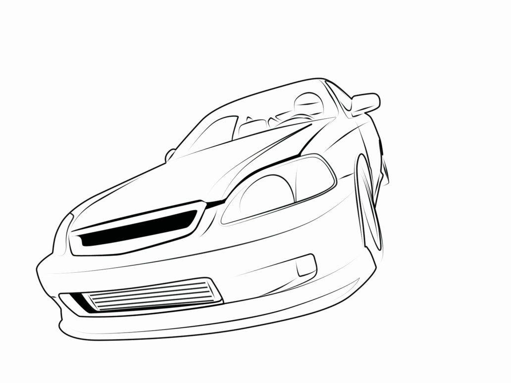 Honda Drawing