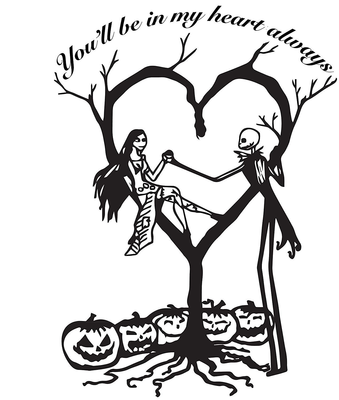 Jack And Sally Drawings