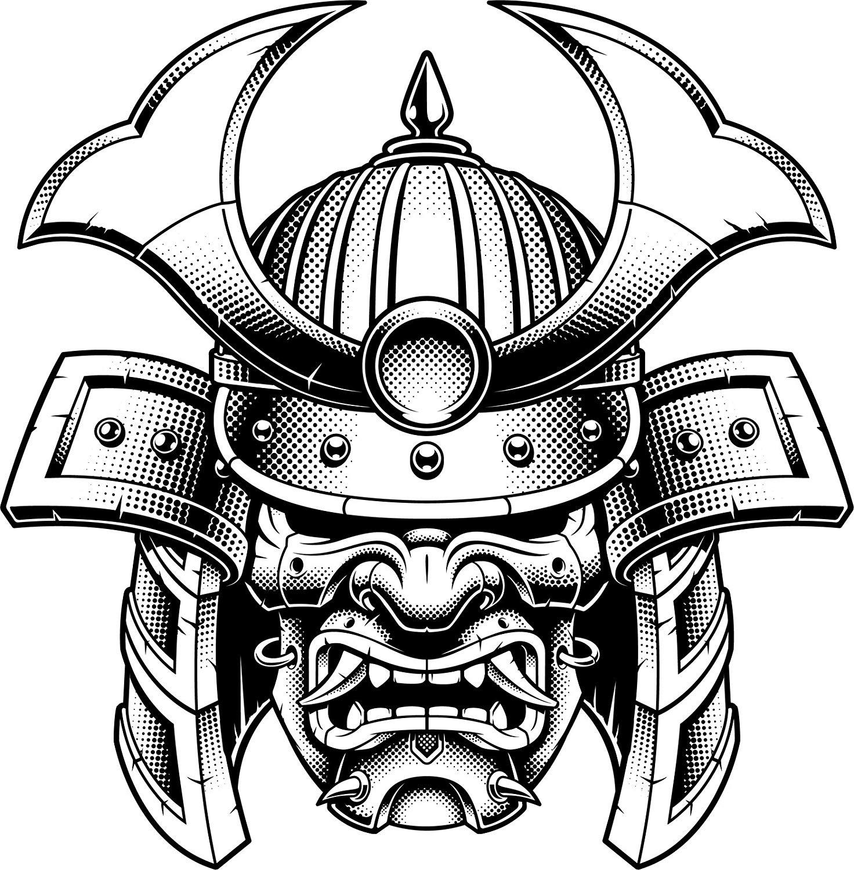 Japanese Warrior Drawing