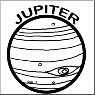 Jupiter Drawing | Free download on ClipArtMag