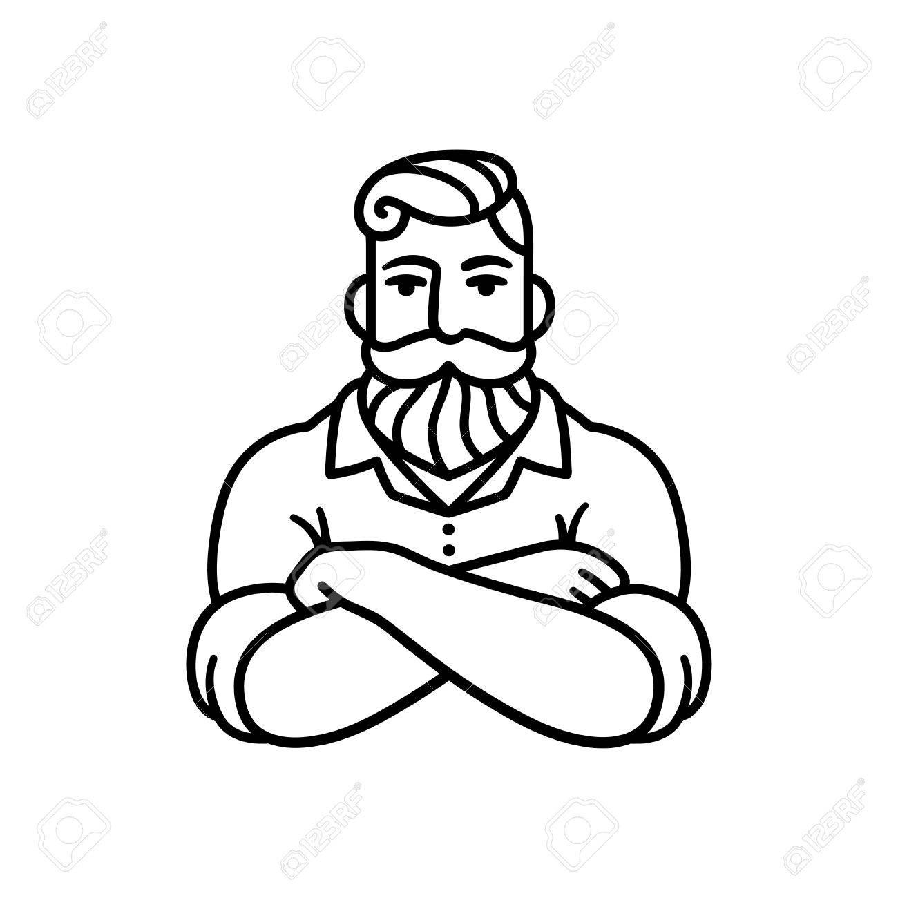 Male Upper Body Drawing