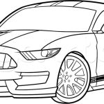 Cars To Draw Mustang Picture Idokeren