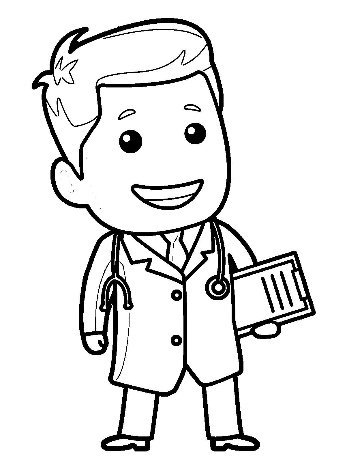 Nurse Drawing For Kids