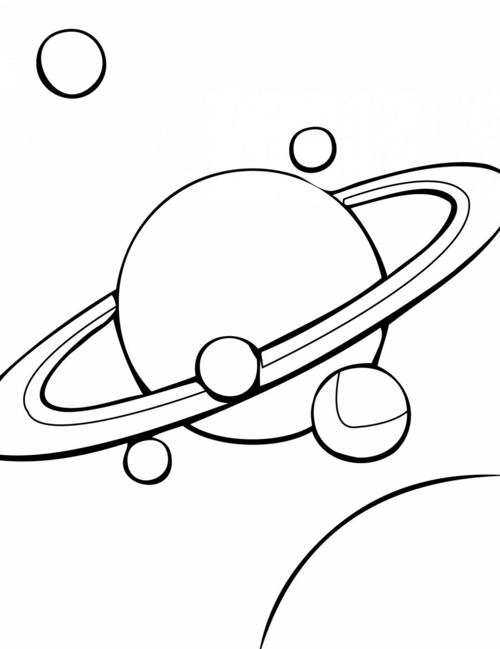 Planets Drawing For Kids