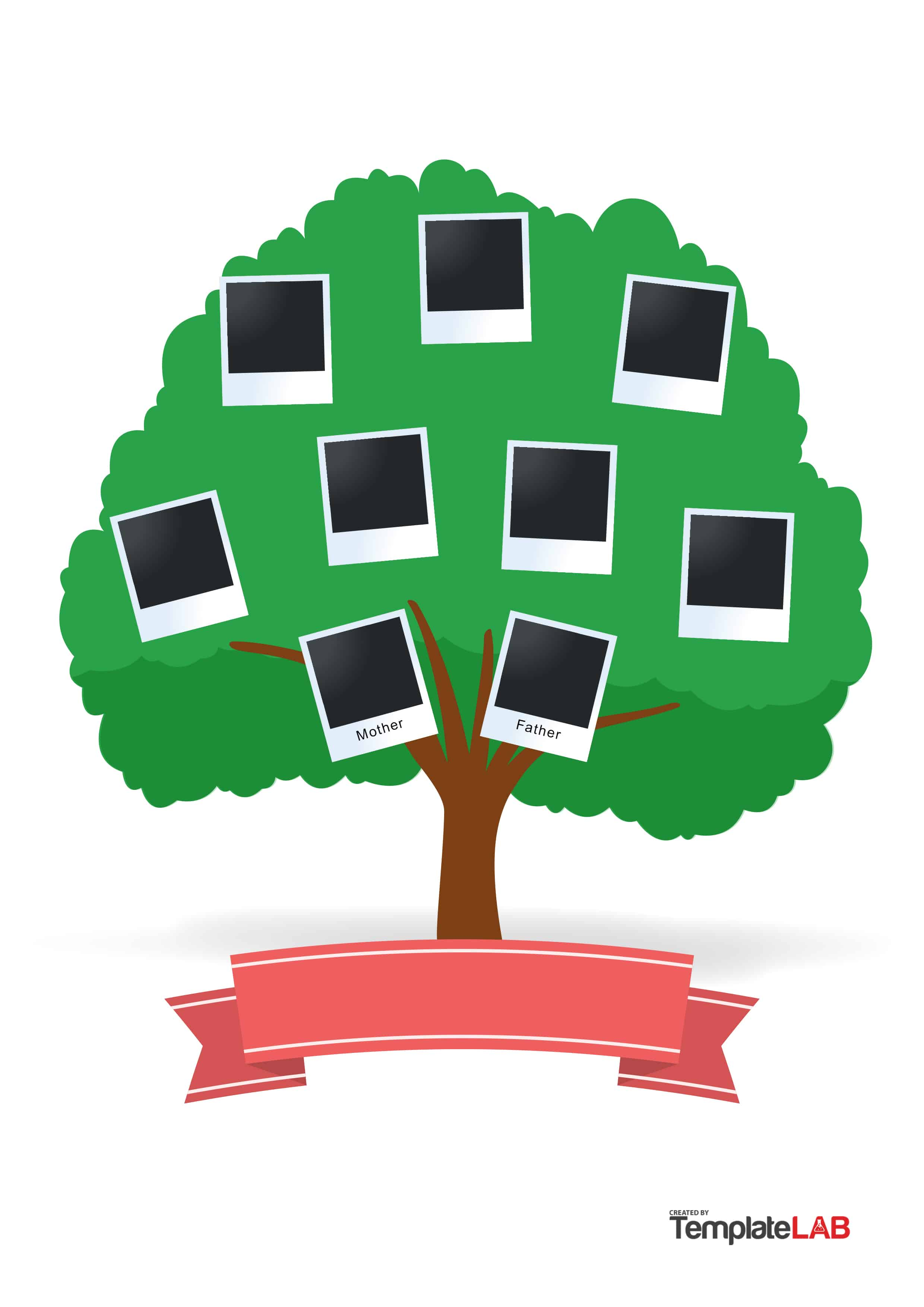 Simple Family Tree Drawing