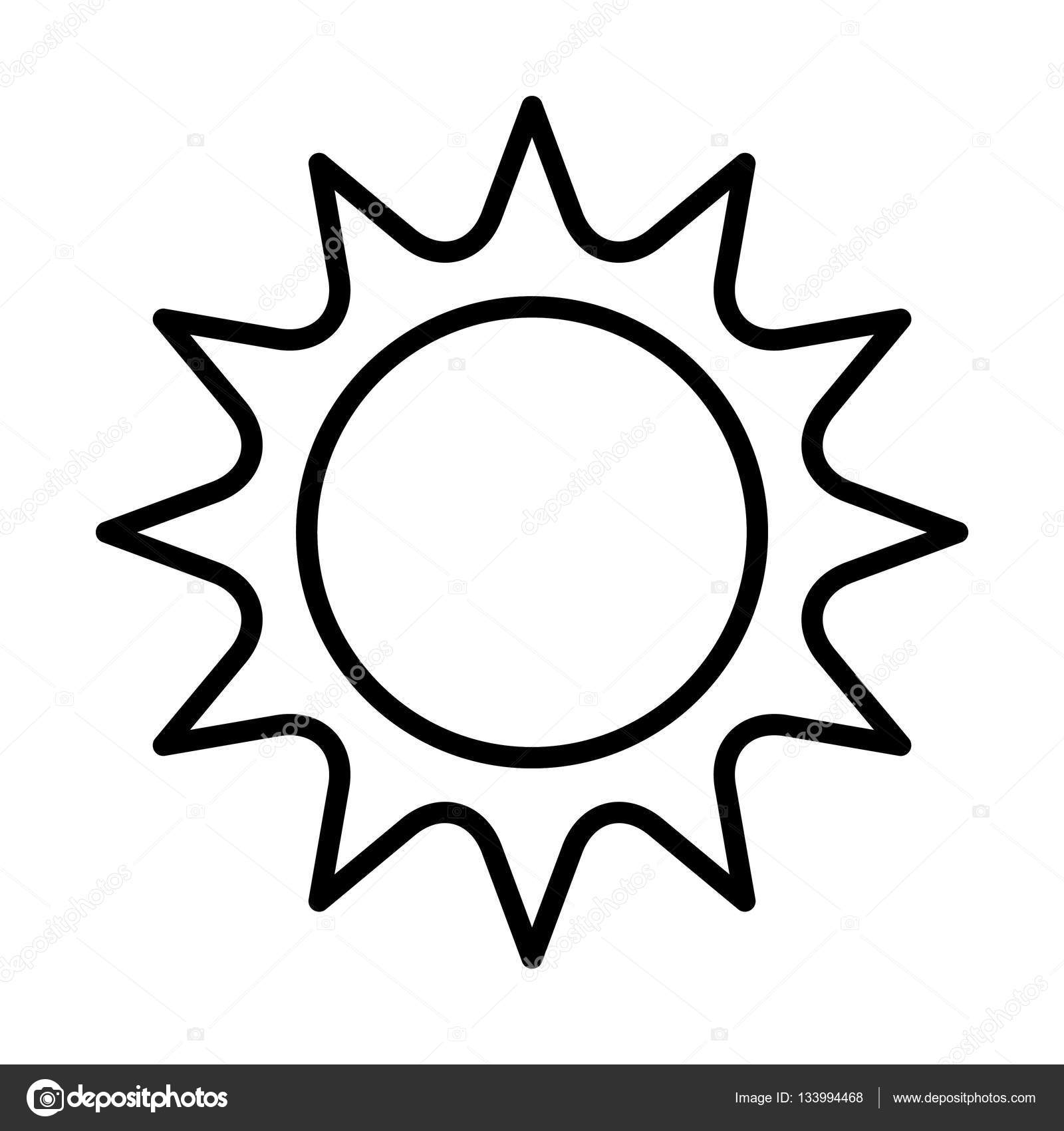 Sun Drawing Pictures
