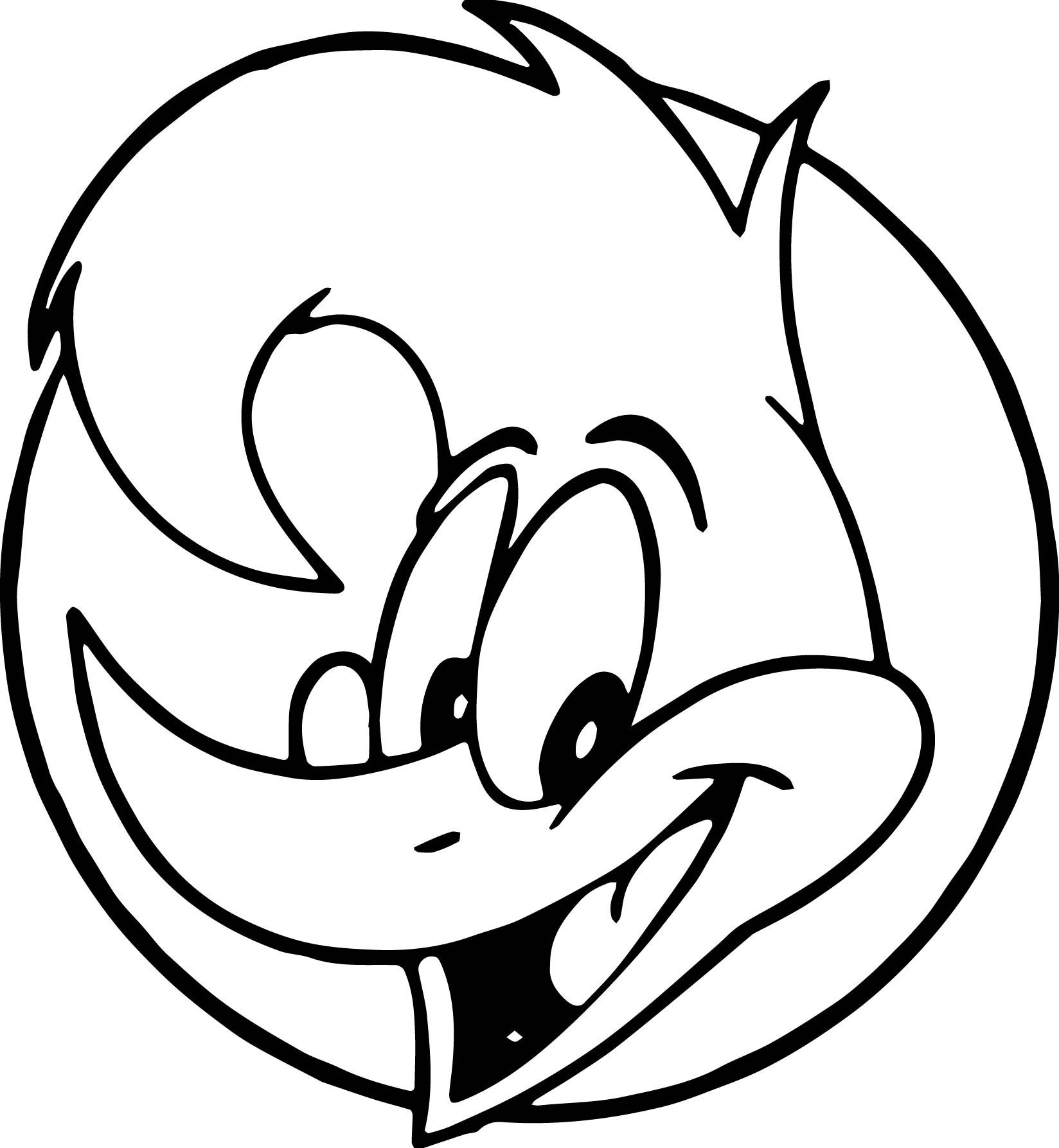 Woody Woodpecker Drawing