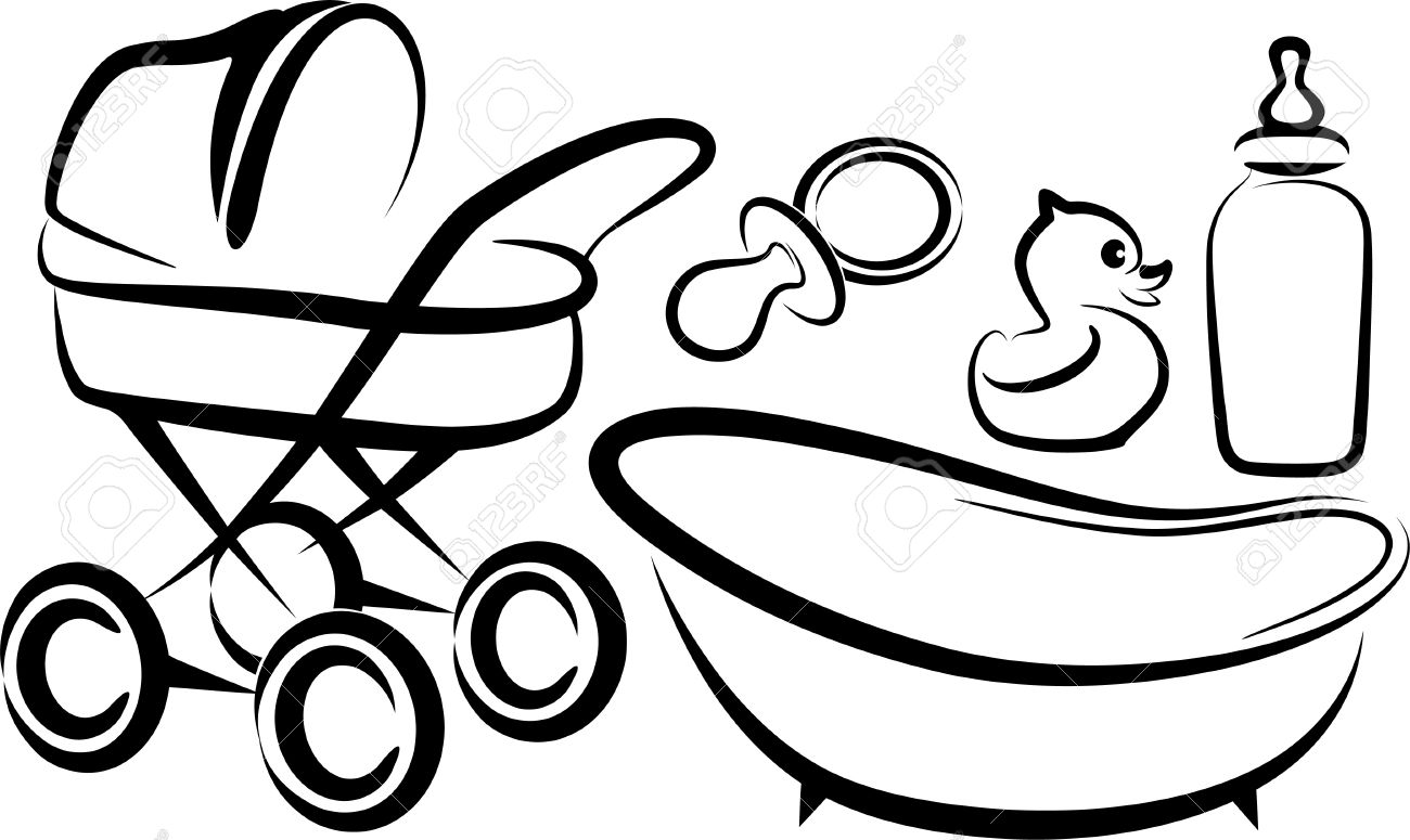 Baby Carriage Clipart