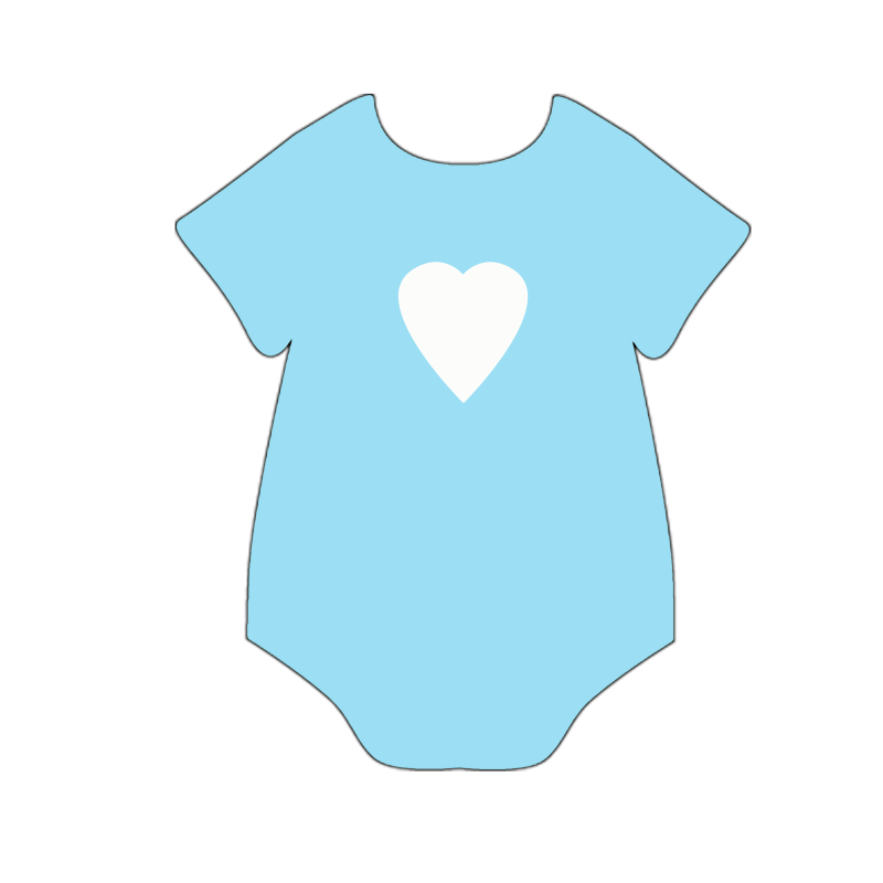 052aa7a63 Teal Baby Boy Onesie Clip Art Baby Girl Onesies Clipart Free ...