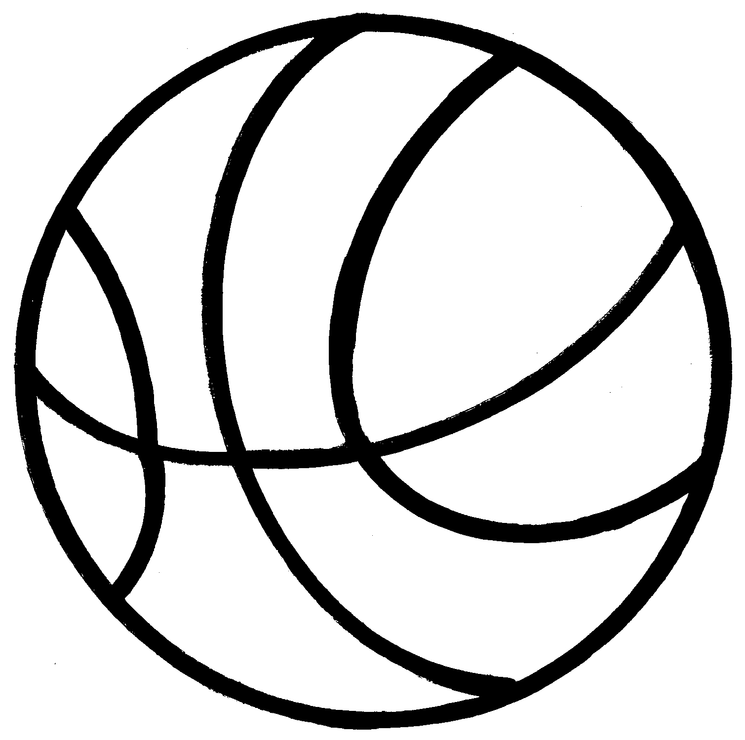 Ball Clipart Black And White