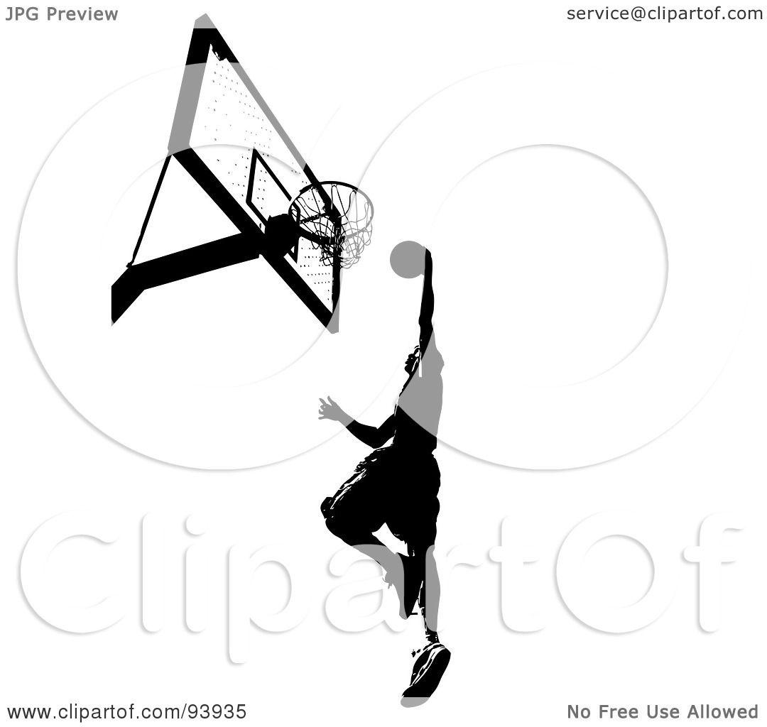 Basketball Hoop Black And White